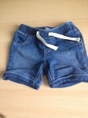 Baby Gap Denim Shorts Size 18-24 Months