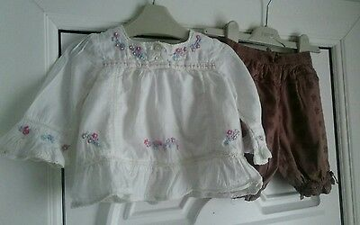 girls monsoon outfit age 6-12 months