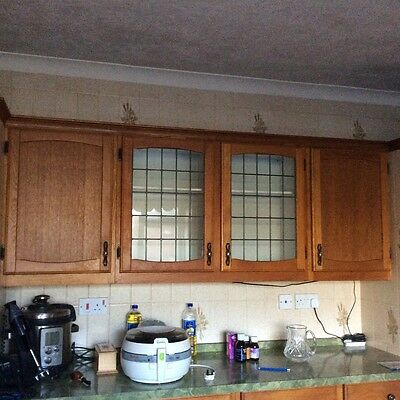 solid oak kitchen cupboard doors and drawers and cupboard furniture