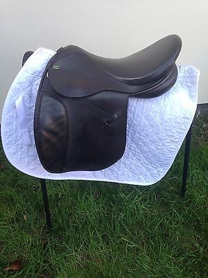 """17"""" Silhouette Wide Brown Saddle G.P"""