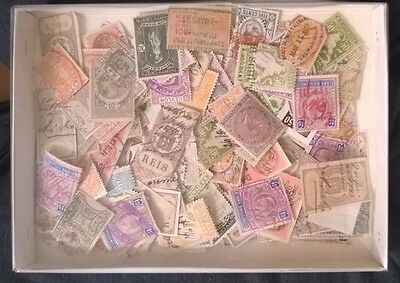 Nice lot of unsorted revenue stamps