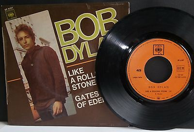 Bob Dylan - Like A Rolling Stone - 7'' + Ps - France