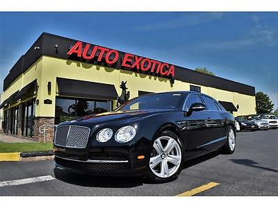 2014 Bentley Flying Spur  2014 Bentley Flying Spur Automatic Sedan W12 BLACK SOLAR ROOF