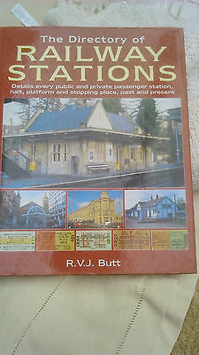 The Directory Of Railway Stations - R.v.j.butt