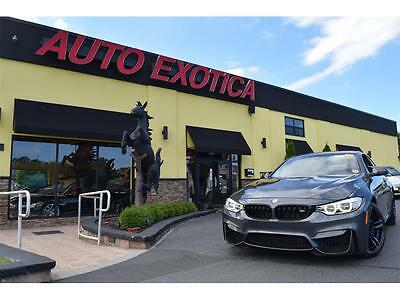 2015 BMW M4  2015 BMW M4 Manual 2 DOOR Coupe CARBON DIFFUSER DRIVER ASSISTANCE MINERAL GREY