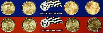 2009 P&D EACH of 4 (TOTAL 8)~~LINCOLN BICENTENNIAL CENTS~~SATIN FINISH