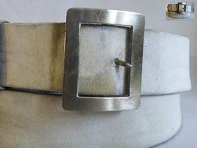 Vintage Boys Brigade Heavy Duty Leather Drum Harness/Strap with Silver Buckle.