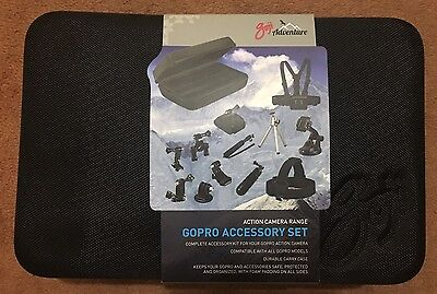 Goji GoPro (Action Camera) Accessory Set (new)