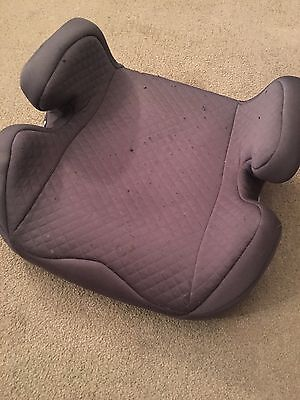 Kids Booster Car Seat By Mothercare Grey