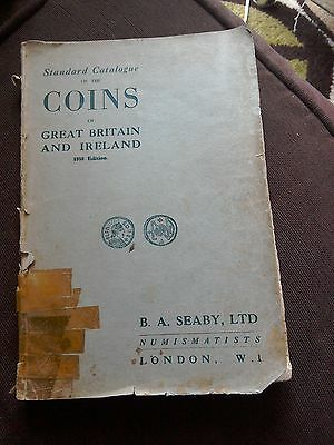 Standard Catalogue of Coins GB & Ireland 1958 vintage issue coin collecting