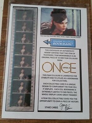 Once Upon a Time Evil Queen  Film Cell Bookmark