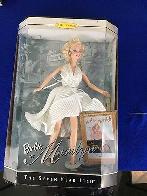 Barbie as Marilyn Monroe The Seven Year Itch Lengends Collection 1997 NIBr