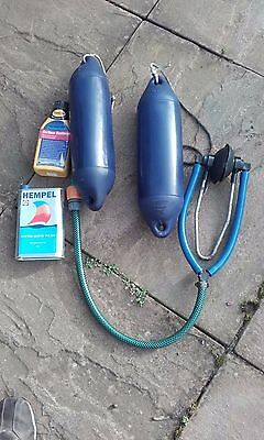 Outboard engine Muff, Polish, Boat Fenders, Ropes.