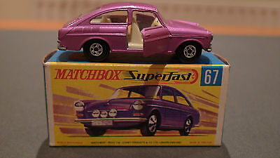 Vintage Superfast Series No67 Volkswagen 1600TL - Boxed in Mint Condition