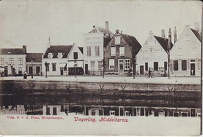 Netherlands Middelharnis - Vingerling undivided back unused postcard