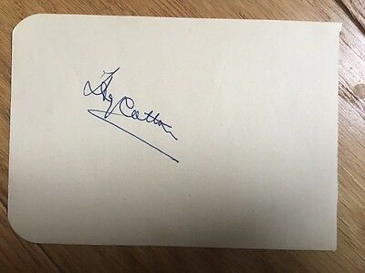 Henry Cotton Open Championship Winner  hand signed Ink Autograph