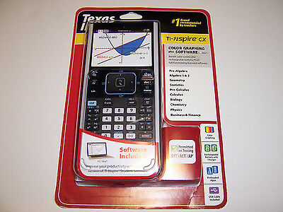 TI-Nspire CX Texas Instruments Graphing Calculator Brand New & Sealed