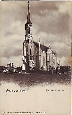 Switzerland Uster - Kirche old postcard