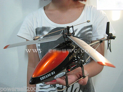 New Orange Length 39CM Remote Control Plane Helicopter Model Gift Children Toys