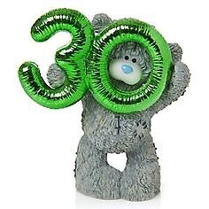 BNIB tatty teddy me to you party time it's your 30th ornament