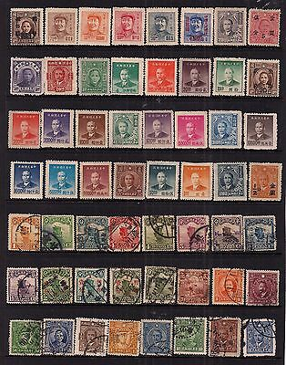 China- New Selection Of Fine Used/mint/mint No Gum Stamps.very Good Lot.