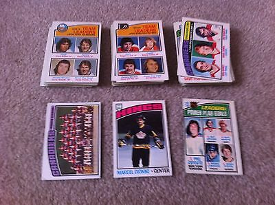 Lot of 83 76/77 OPC old vintage Hockey Cards EX-EXMT