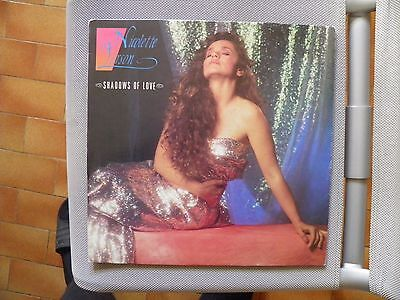 Nicolette Larson -Shadows Of Love Lp Cgd 20734  Italy 1987  First Press