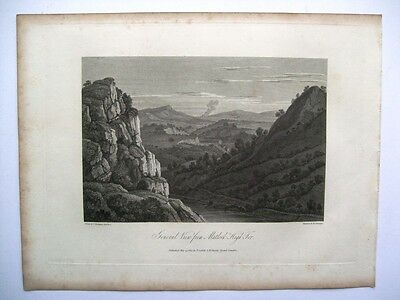 General View from Matlock High Tor (Cadell and Davies, 1817)
