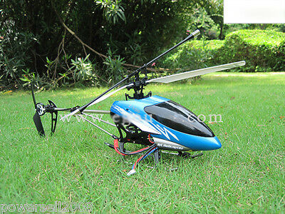 New Blue Length 39CM Remote Control Plane Helicopter Model Gift Children Toys