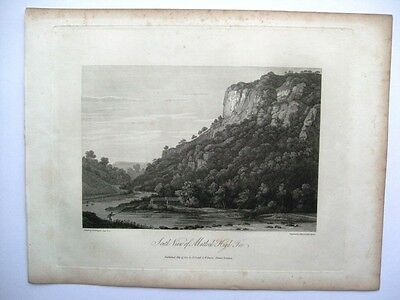 South View of Matlock High Tor (Cadell and Davies, 1817)