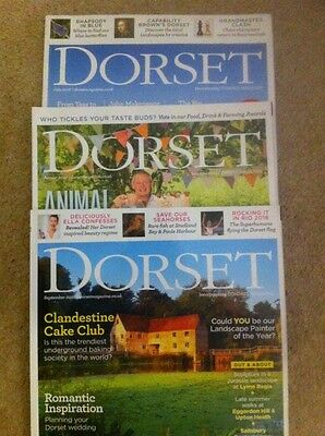 3 X Dorset Magazine - July August And September 2016
