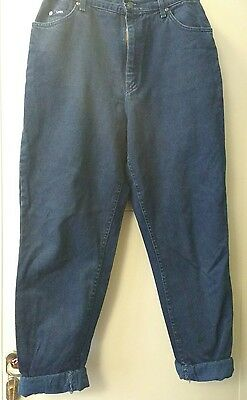 Vintage Lee High Waisted Jeans size 10/12