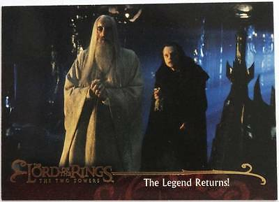 LOTR Lord of the Rings THE TWO TOWERS ~ Promo Card P1