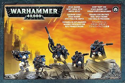 Space Marine Scouts with Sniper Rifles - Warhammer 40,000 - Games Workshop