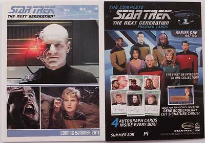 Star Trek THE NEXT GENERATION Complete Series 1 - P1 Promo Card