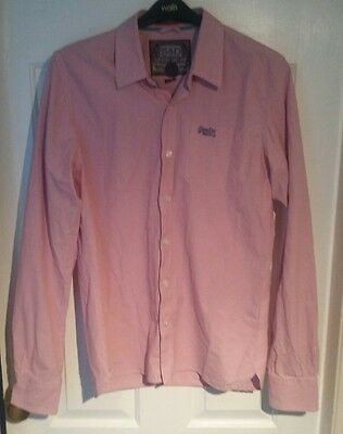 Superdry London Button Down Casual Shirt Size Mens XL