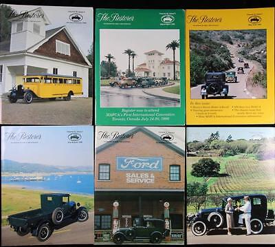 6 Issues The Restorer the Magazine for Model A Ford Enthusiasts Complete 1996
