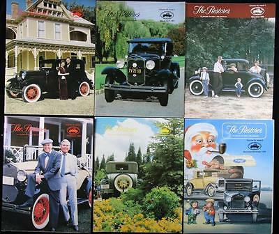 6 issues The Restorer the Magazine for Model A Ford Enthusiasts Complete 1989