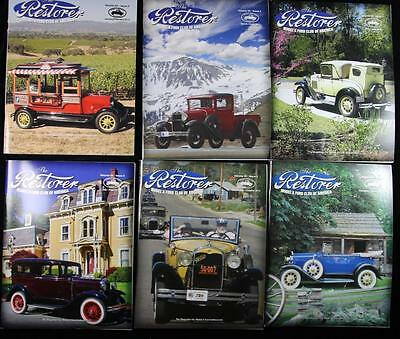 6 Issues The Restorer the Magazine for Model A Ford Enthusiasts Complete 2010