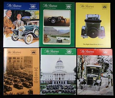 6 Issues The Restorer the Magazine for Model A Ford Enthusiasts Complete 1991