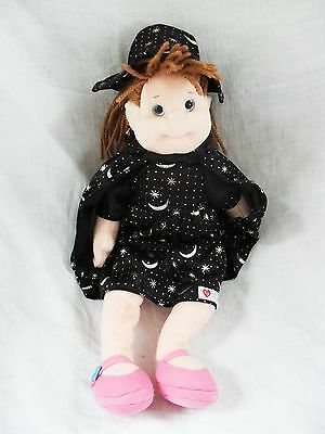 Ty Bubbly Betty with Halloween outfit