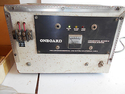 Older Onboard Locomotive Sound And Control System HO Scale Model Railroad