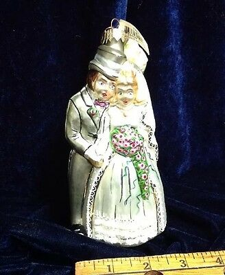 Department 56 Married Bride & Groom & Cake Collectible Ornament Christmas Poland
