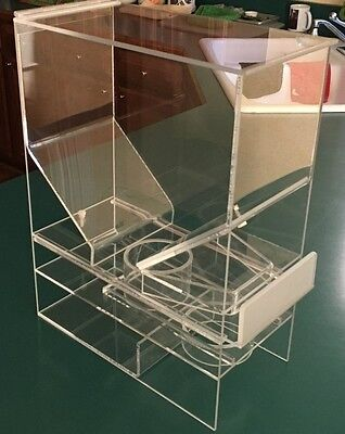 "Cereal Dispenser  Portion Control   7""W x 15.5""D x 20""H      Cal- Mil"