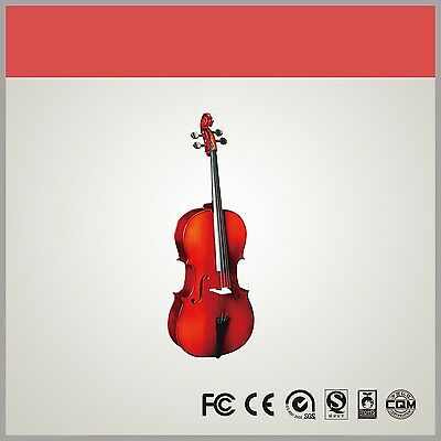 Solid Wood Cello (3/4)