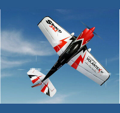 Black+Red New Length 111.5CM Fixed Wing Remote Control Plane Glider Model Toy #