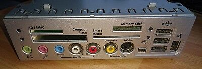 Medion Front Panel Video USB Firewire Smart Card Reader 20017349 MS-6982