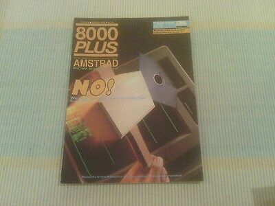 8000 Plus The Magazine for the Amstrad 8256 8512