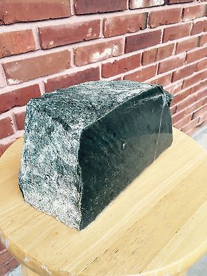 Wyoming jade Rough Olive green Nephrite 13 lb 12 oz.