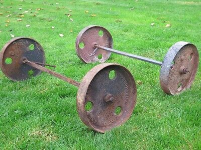 cast wheels and axles